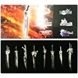 Final Fantasy Weapon Set/ Full Set Of Final Fantasy Sword Weapon