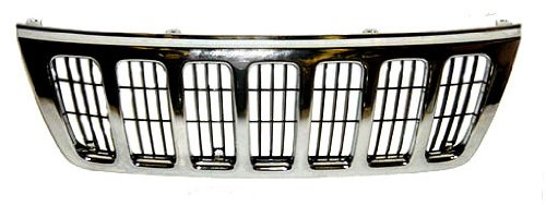 OE Replacement Jeep Cherokee/Wagoneer Grille Assembly (Partslink Number - Grille Grand Cherokee