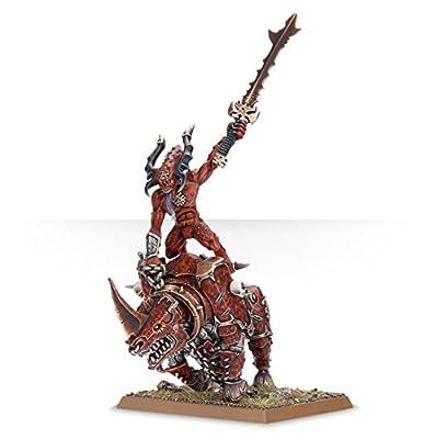 Herald of Khorne on Juggernaut from Lutzius