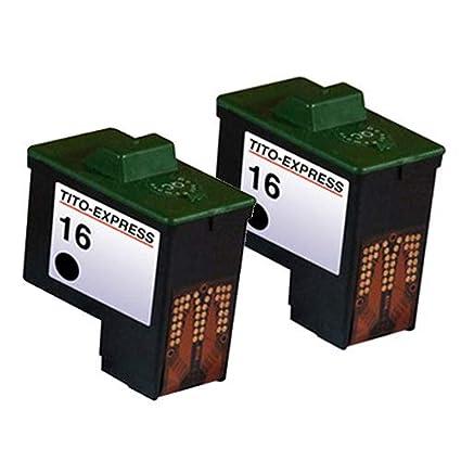 Gorilla-Ink - Cartuchos de Tinta XXL compatibles con Lexmark 16 y ...