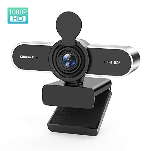 🥇 Campark Webcam PC 1080P Full HD con Micrófono Estéreo