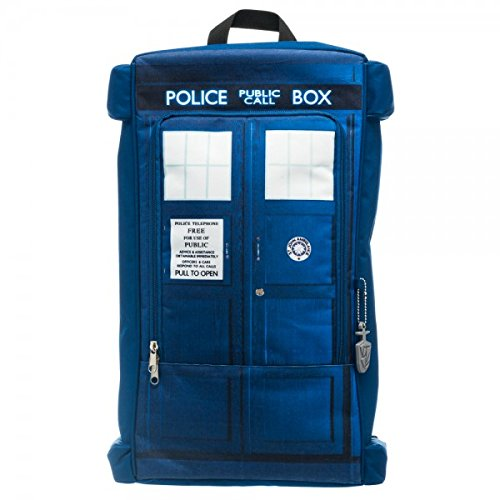 Doctor Who Tardis Call Box Backpack