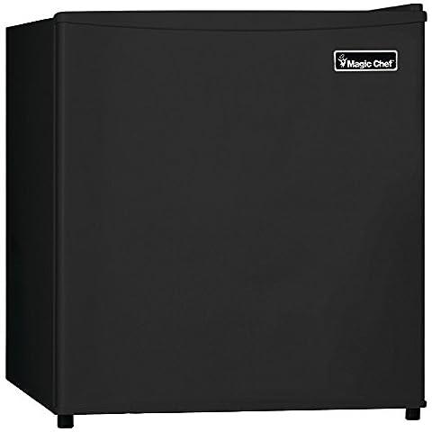 1 - 1.6CBFT REFRIGERATOR BLK, 1.6 Cubic-ft Refrigerator (Black), 1.6 cu ft capacity , In-door storage shelves , Adjustable thermostat control , Freezer compartment , Removable wire shelf ...