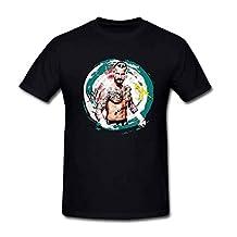 SEagleo2 Men's ROH & ECW & WWE World Champion CM PunkT-Shirt Black