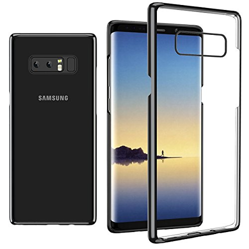 Galaxy Note 8 Case, E XiuGe -[Thin][Clear][Slim Fit][Hard PC] [Transparent] Back Cover For Samsung Galaxy Note8 (2017)