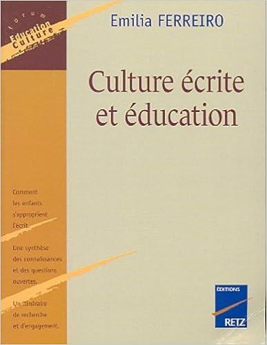 En ligne Culture écrite et éducation pdf