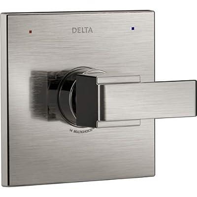 Delta T14067 Ara Pressure Balanced Mixing Valve Trim with Monitor Technologies,