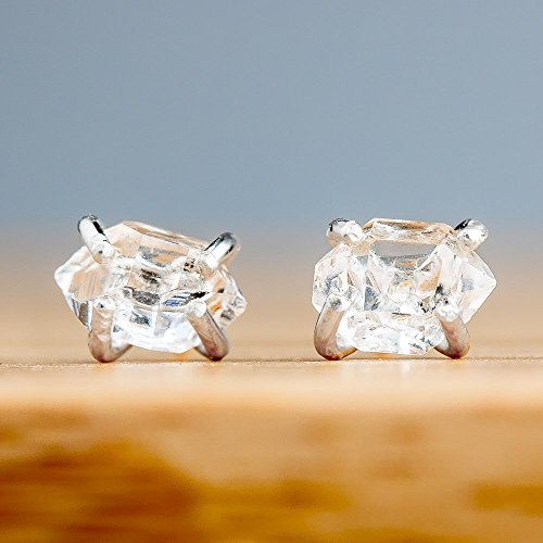 raw-herkimer-diamond-stud-earrings-in-sterling-silver