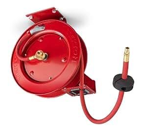 TEKTON 46771 carrete retráctil para manguera neumática con 762 cm de 0,95 cm Goodyear enrollado automático para manguera neumática de goma