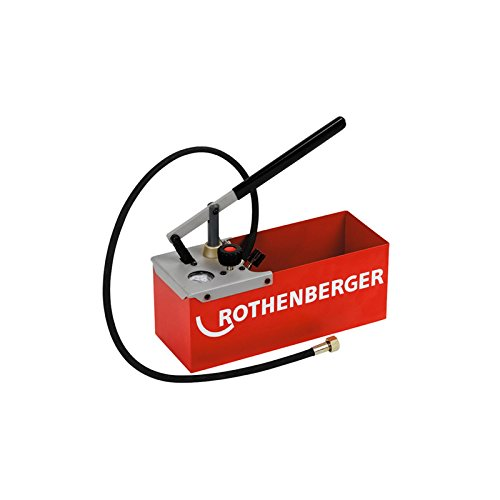 ROTHENBERGER 60250 TP25 Compression Test Pump, Max Pressure 25 bar/363 psi