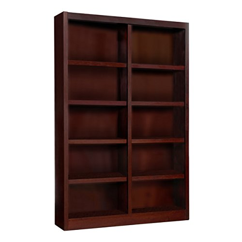 Wooden Bookshelves Double Wide 72