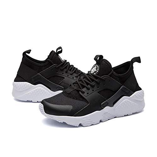 Yuehen Comfortable Breathable Mesh Flats Female Platform Sneakers Women Chaussure Femme Black and White (Best Sneaker Websites For Jordans)