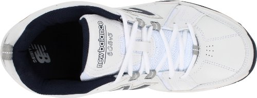Nuovo Equilibrio Mens Mx608v3 Scarpa Cross-training Bianco / Blu Scuro
