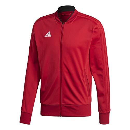 Jacket Adidas Homme noir Veste 18 Red Power Polyester blanc Condivo qttRP