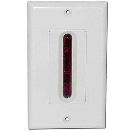 98dc11470ca Image Unavailable. Image not available for. Color  Choice Select IR Target  in Decora Style Wall Plate ...