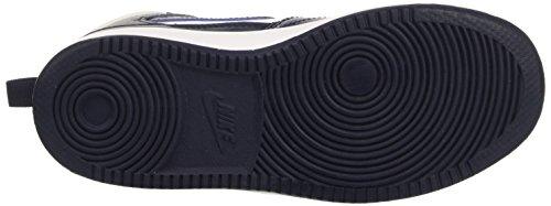 Nike Jungen Priority Mid Ps Basketballschuhe Multicolore (White/Obsidian-Obsidian)