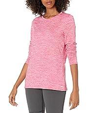 Amazon Essentials Women's Tech Stretch Long-Sleeve T-Shirt
