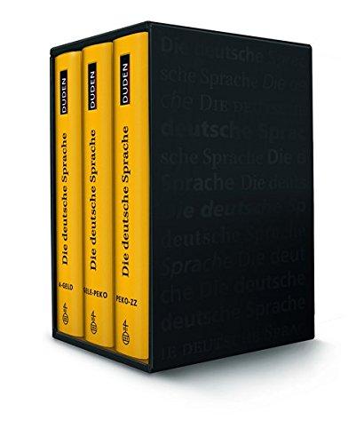 Duden - Die deutsche Sprache. Wörterbuch in drei Bänden