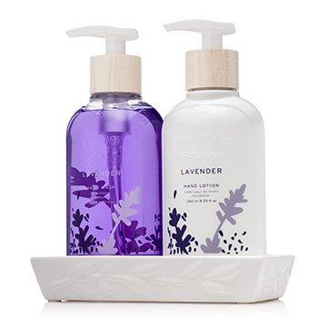 Thymes Lavender Sink Set - 1