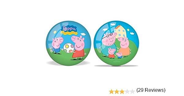 Unice - Pelota diseño Peppa Pig, 23 cm (Mondo 06971): Amazon.es ...
