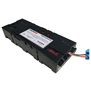 UPSBatteryCenter APCRBC115 Compatible Replacement Battery for SMX1500RM2U, SMX1500RM2UNC