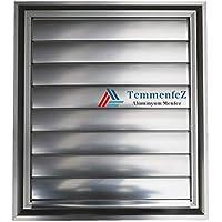 Alüminyum Menfez - Panjur Banyo ve Wc Havalandırma Yüzeysel Yapıştırma ÖZEL TASARIM! (25x27 cm)