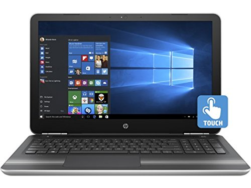 HP Pavilion 15z Natural Silver Laptop PC - AMD A9-9410 Dual Core, Radeon R5 Graphics, 15.6-Inch WLED Touchscreen Display (1920x1080), Windows 10 Home, Backlit Keyboard, 1TB Performance SSD, 16GB RAM Pavilion Amd Laptops