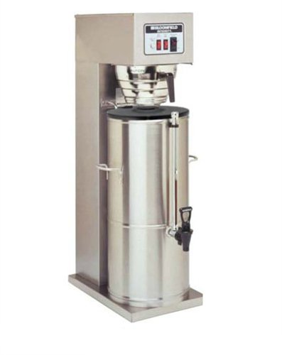 Bloomfield 8748-5G Integrity Automatic Iced Tea Brewer, 5-Gallon, Single, Stainless Steel, 17'' Depth, 10 15/16'' Width, 32 1/4'' Height by Bloomfield