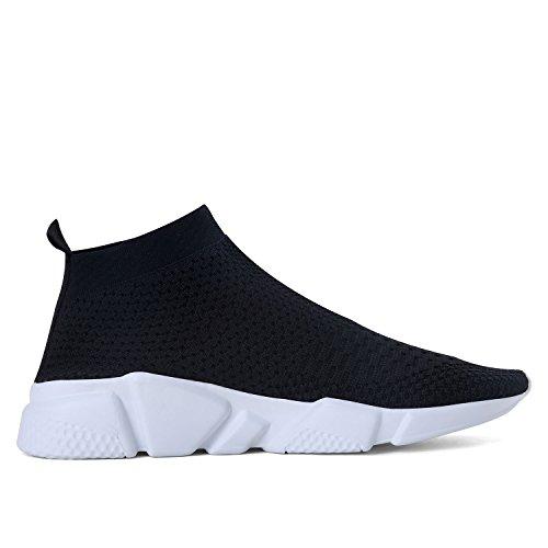 Laufende leichte Breathable beiläufige Sportschuhe der Frauen arbeiten Art- und Weiseturnschuh-wandernde Schuhe um Schwarz