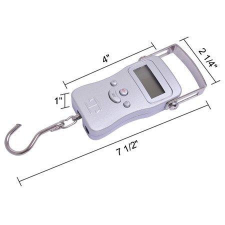110lb HVAC freón refrigerante escala peso digital portátil 50 kg herramienta electrónica: Amazon.es: Hogar