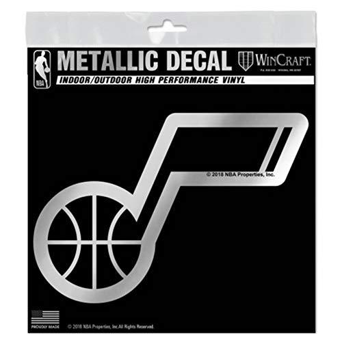 Utah Jazz S74440 Metallic Window Decals