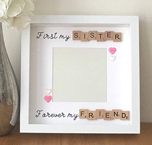 Christmas Gifts For Sister.Sister Christmas Gift First My Sister Forever My Friend Best
