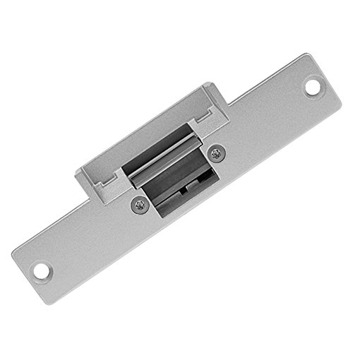 LIBO Electric Strike Lock Electronic Mortise NO Mode Lock a Part Fail Secure for Access Control Wooden Metal Door