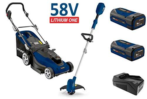 Hyundai batería de jardín Set lmgt5 801li set2 a (batería de ...