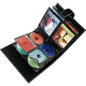 Case Logic DMM-120 Koskin CD/DVD 120 Capacity Wallet (Black) (Capacity Koskin Cd Dvd)