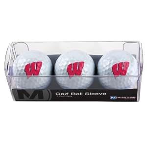 NCAA Wisconsin Badgers 3 Ball Sleeve