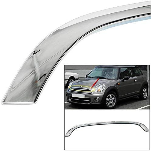 EAX Compatible with Mini Cooper R55 R56 R58 R59 2009 2010 2011 2012 2013 2014 2015 Molding Replacement for Chrome Grille Hood Trim Moulding 09 10 11 12 13 14 15 Brand