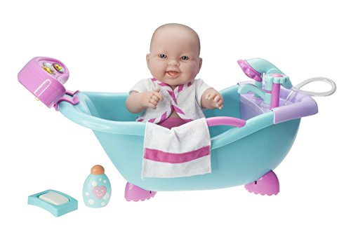 JC Toys Lots to Lots to Love Baby Doll Real Working Batht...
