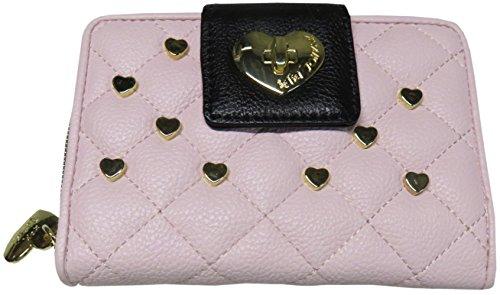 Betsey Johnson Women's Small Tab Wallet, Size 5.5