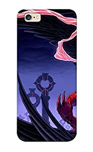 52c9e6c1711 Summerlemond Defender PC Hard Case Cover For Iphone 6 Plus- Angels Wings Fantasy Angel Gothic Raven Crow