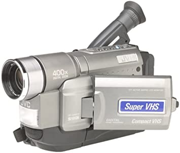 Amazon Com Jvc Gr Sxm330u Super Vhs Palm Sized Camcorder With Lcd Monitor Discontinued By Manufacturer Vhs C Camcorders Camera Photo