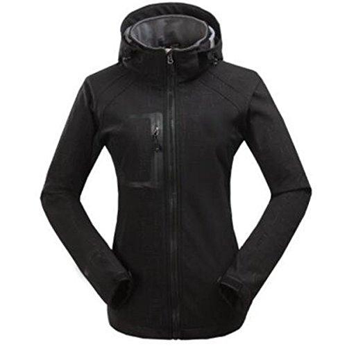 LAI Dos Black Libre Piezas Prueba Viento Trajes A De De Mujer Agua Y De De Alpinismo Al Esquí para De Chaqueta Aire WU Prueba A dPv4wqSd