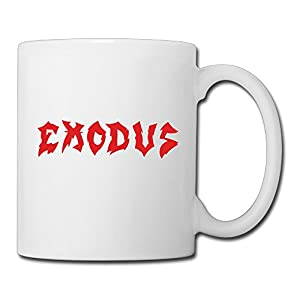 Christina Exodus Band Logo Ceramic Coffee Mug Tea Cup White
