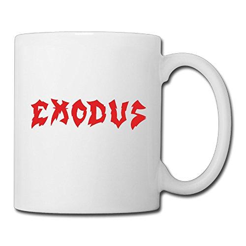 Christina Exodus Band Logo Ceramic Coffee Mug Tea Cup White