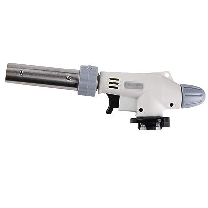 Rziioo Pistola De Llama De Metal Soldadura De Gas Antorcha De Encendedor Calefacción Soldadura De Camping
