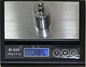 200X0.1g Digital Scale Balances Weight Jewelry Hobby Food Diet
