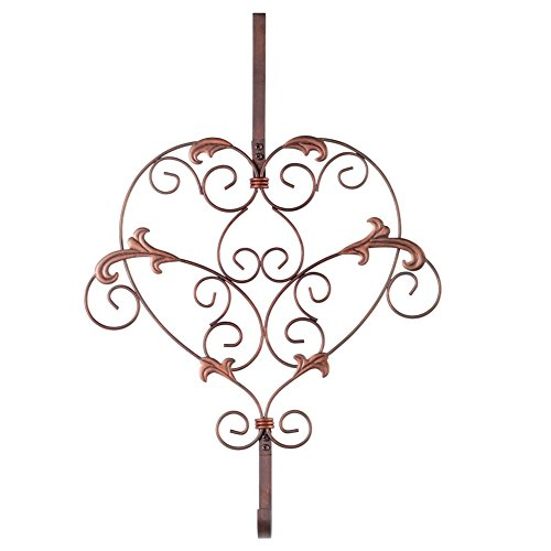 Heart Wreath Metal Door Hanger