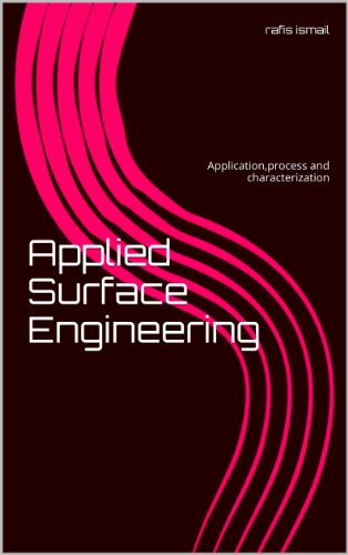 Applied Surface Engineering: Application,process and characterization