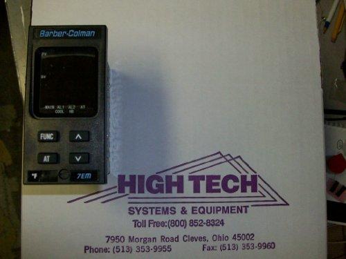 Barber Colman 7EM431113000 1/8th DIN Eurotherm Controller 0.125 Din Pid Controller