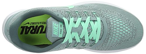 Hasta Size Free M 5 Glow Shoe US Running Off Green 6 NIKE RN Women's White Cannon PgwqT8R